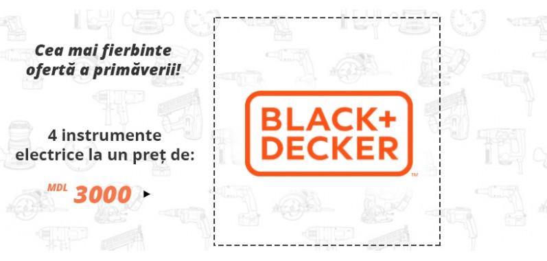 Oferta instrumente Black+Decker
