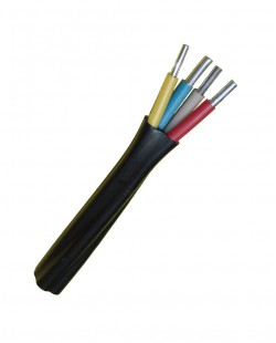 Cablu electric АВВГ 3x6+1x4