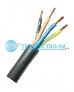 Cablu electric КГ 3x6 + 1x4