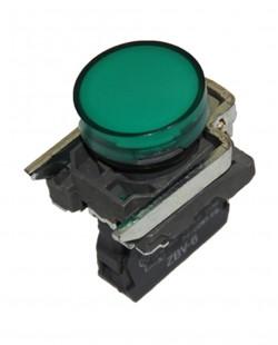 Lampa de semnalizare LED ZBV6 220V (verde)