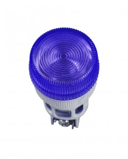 Lampa de semnalizare neon XB2EV 220V (albastru)