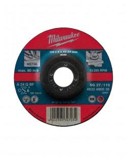 Disc slefuitor metal SG27 Ø180x22.2mm