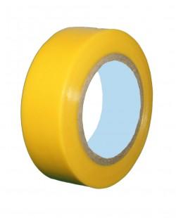 Banda izolatoare PVC 0.13x19mm x 20m (galben)