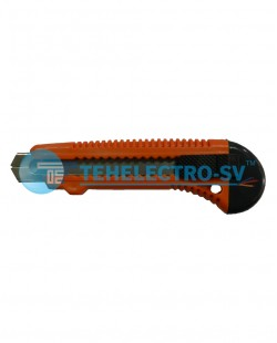 Cutit cu lama 17B528 18mm (oranj)
