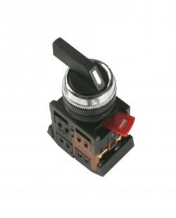 Comutator CB2-ED33 (I-0-II) 1nd+1ni (negru)