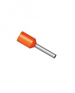 Papuc pin izolat E4009 4.0mm² (oranj)
