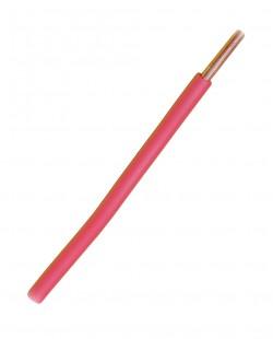 Провод электрический ПВ1 0.5 (красный)