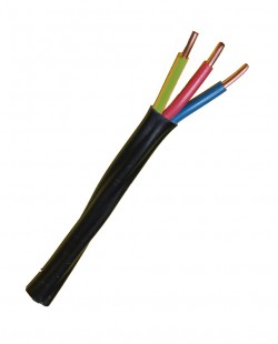 Cablu electric ВВГнг 3x4