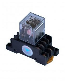 Releu intermediar MY3 5A 220V AC (cu soclu)