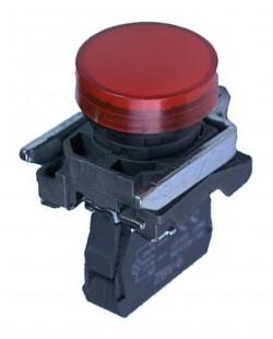 Lampa de semnalizare LED ZBV6 220V (rosu)