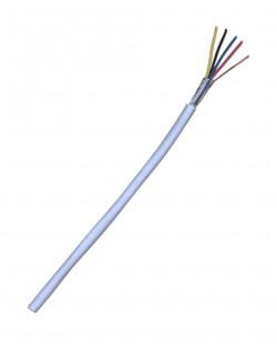 Cablu ecranat pentru alarma 4x0.22 CCA