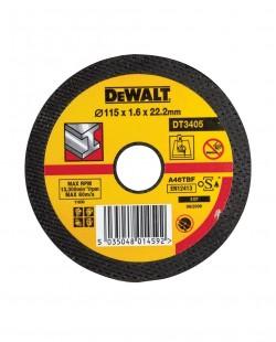 Disc slefuitor metal DT3402 Ø115x6x22.23mm