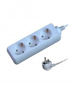 Prelungitor electric 103C 3prize 2P+E 16A 5m