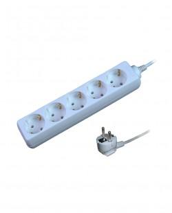 Prelungitor electric 105C 5prize 2P+E 16A 1,5m