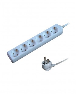 Prelungitor electric 106C 6prize 2P+E 16A 5m