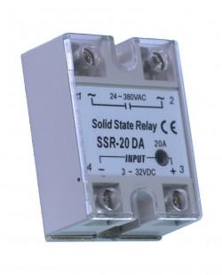 Releu solid TSV SSR-20DA 20A 24-380V AC