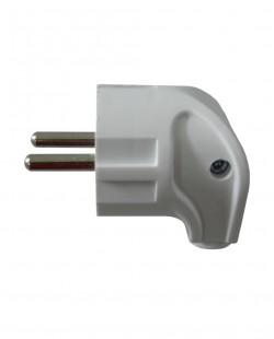 Fisa electrica 2P+E unghiulara 16A 250V