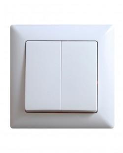 Intrerupator antibacterial dublu VS281150103