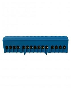 Bara de nul BX15AL 6x9mm 15 gauri (albastru)