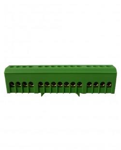 Bara de nul BX15VE 6x9mm 15 gauri (verde)