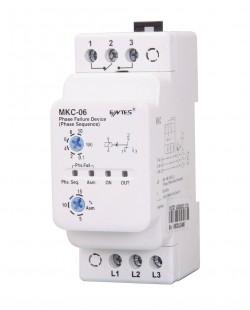Releu monitorizare faze CEPC-06(MKC-06) 380V AС