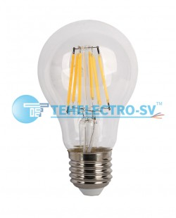 Bec LED filament A60 6W E27 4200K