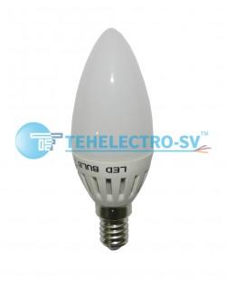 Bec LED C35 3W E14 6400K