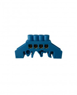 Bara de nul 0609-04AL 6x9mm 4 gauri (albastru)