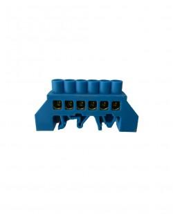 Bara de nul 0609-06AL 6x9mm 6 gauri (albastru)