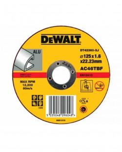 Disc taiere aluminiu DT42360 Ø125x1.6x22.2mm