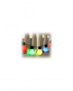 Ghirlanda Bec multi-color 6 m 20 bec