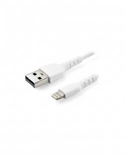 Cablu USB de incarcare Lightning 1m 2,4A Alb