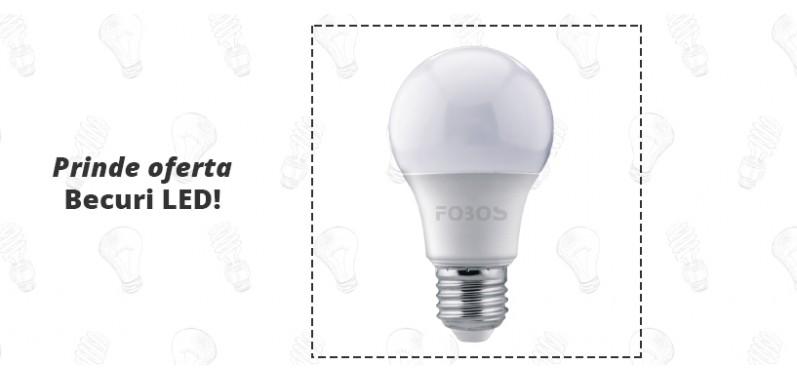 Prinde oferta becurilor LED!